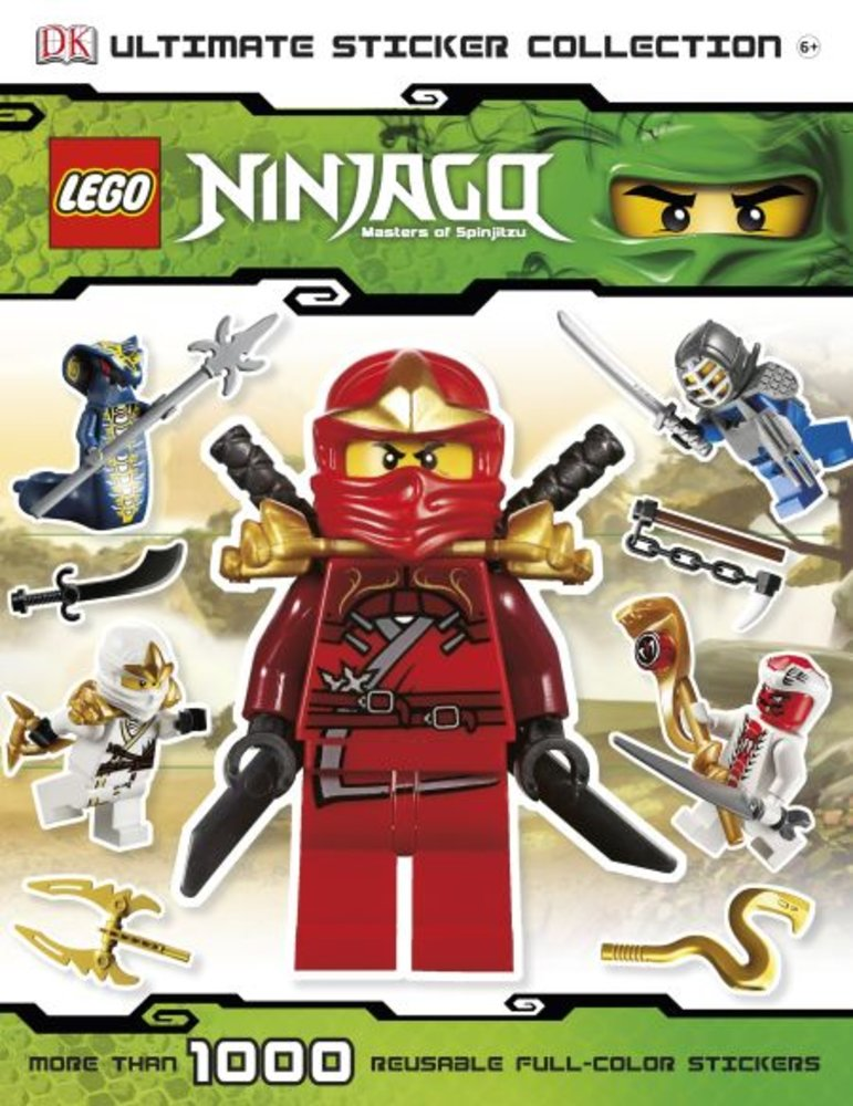 DK Ultimate Sticker Collection-Ninjago