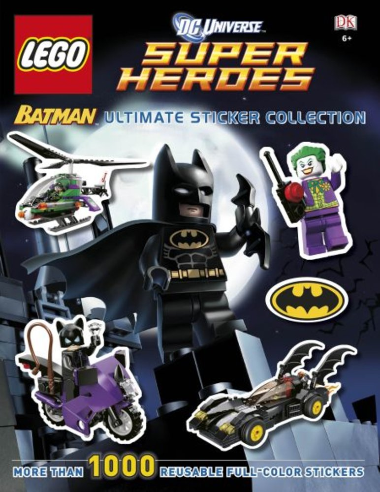 DK Ultimate Sticker Collection-DC Super Heroes: Batman