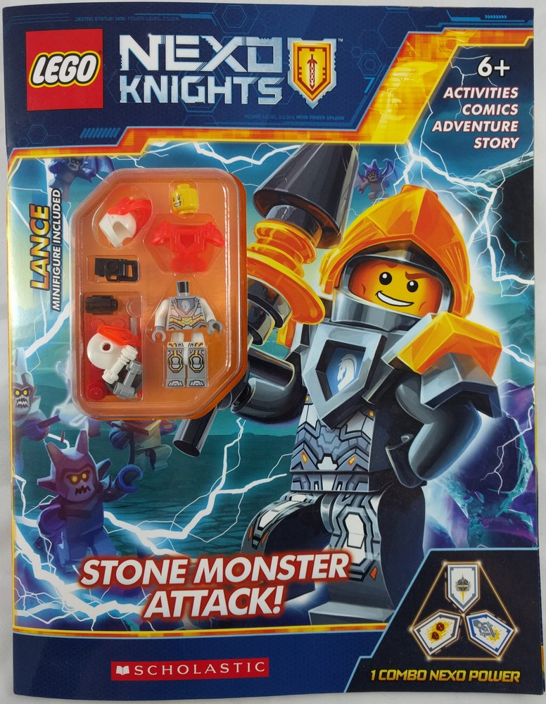 Nexo Knights: Stone Monster Attack!