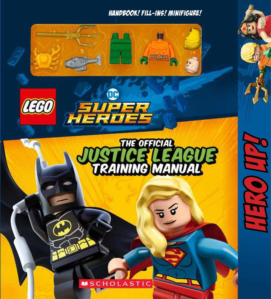 DC Comics Super Heroes The Official Justice League Training Manual