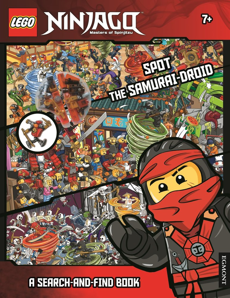 Ninjago: Spot The Samurai - Droid
