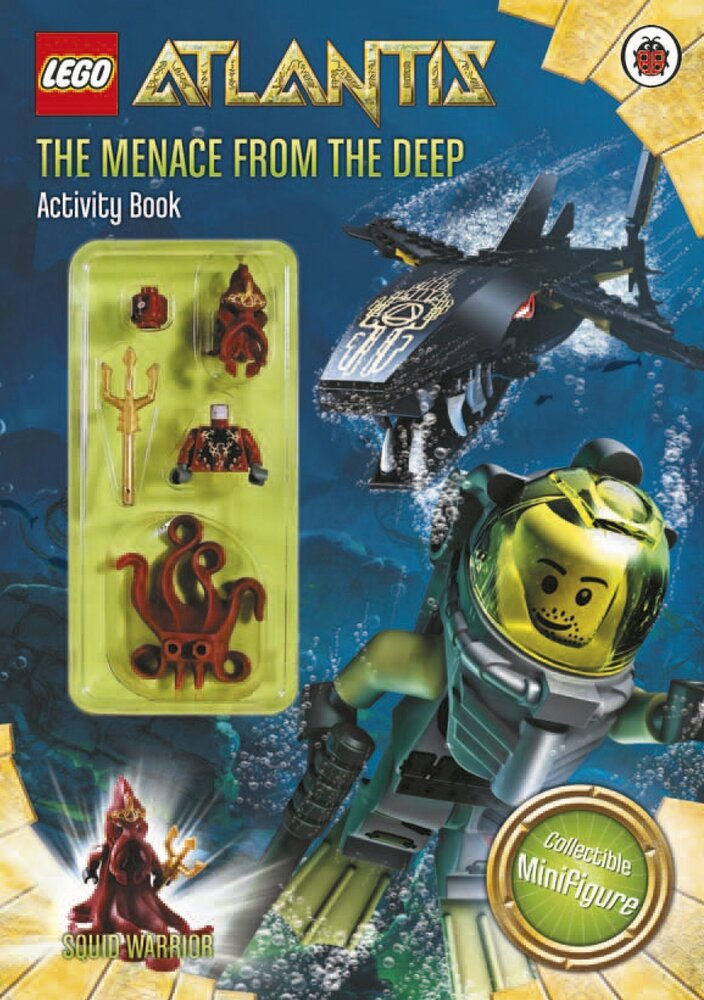 Atlantis: The Menace from the Deep - Activity Book