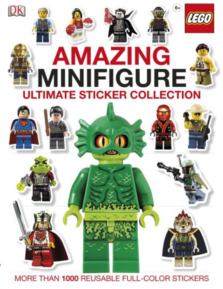DK Ultimate Sticker Collection-Amazing LEGO Minifigure