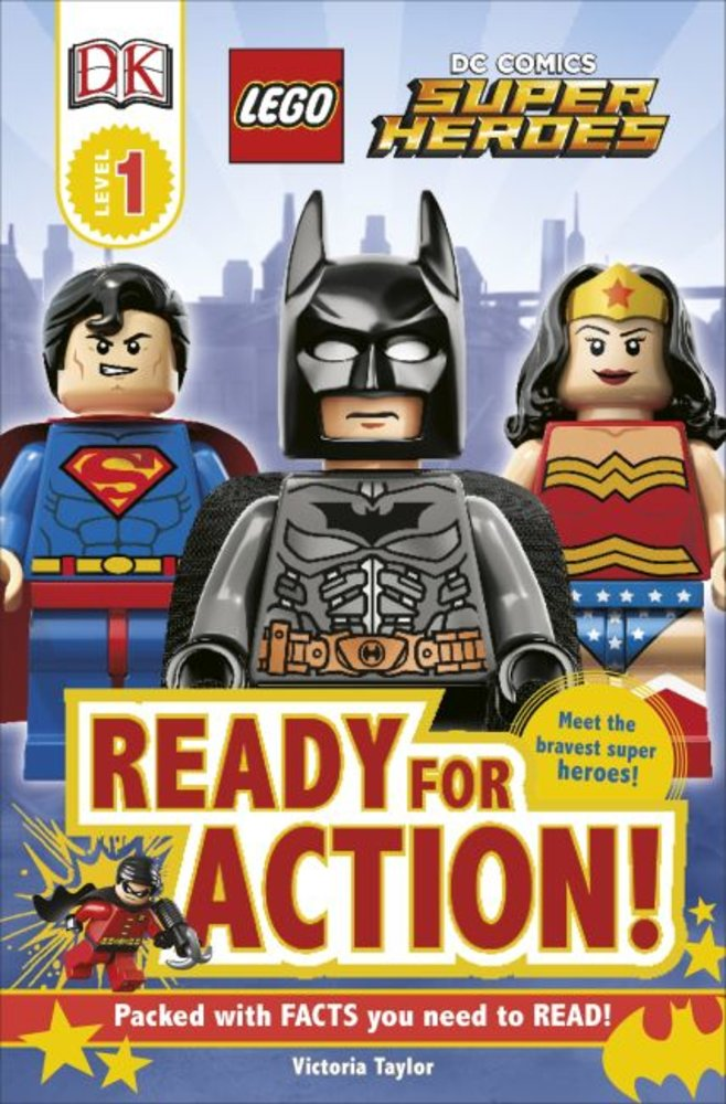 DK Readers Level 1: DC Super Heroes: Ready for Action!