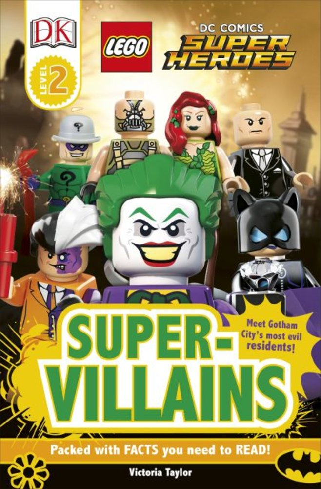 DK Readers Level 2: DC Super Heroes: Super-Villains