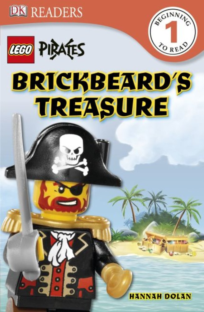 DK Readers Level 1: Pirates: Brickbeard's Treasure