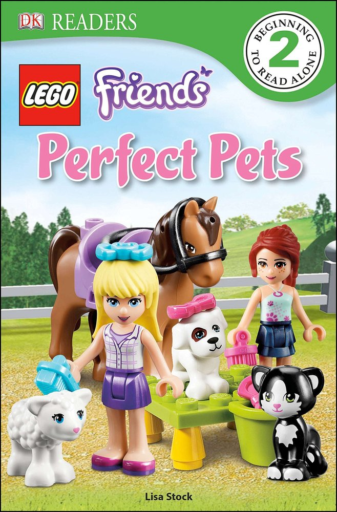 DK Readers L2: Friends Perfect Pets