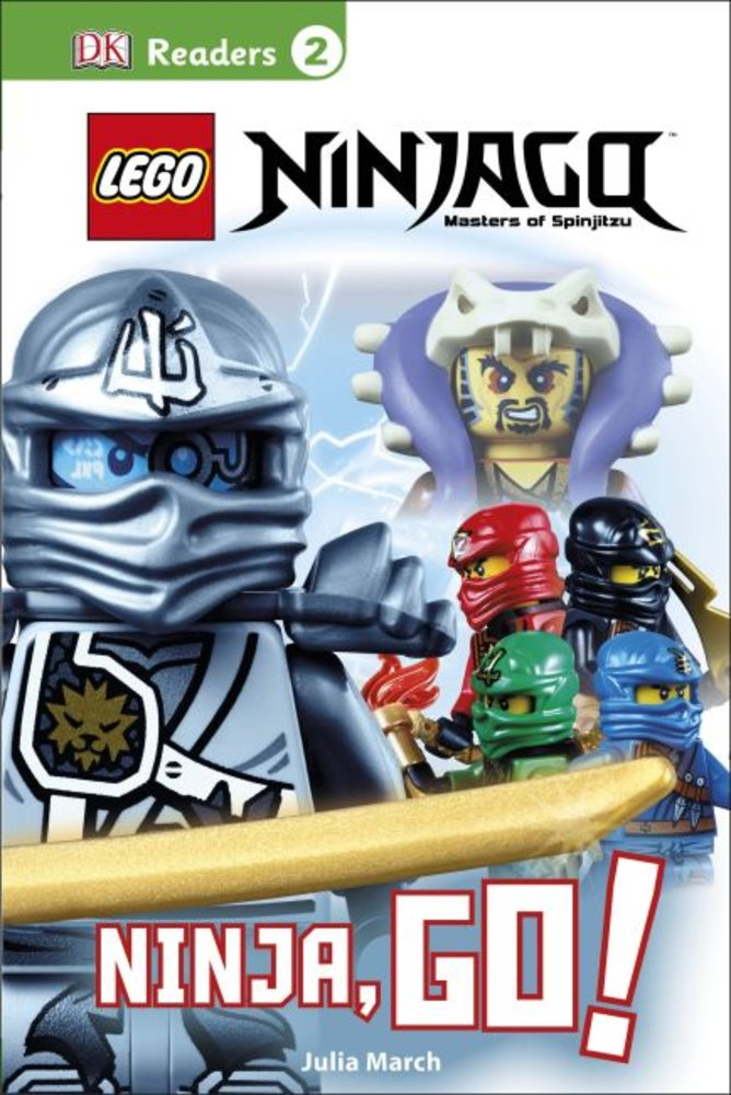 DK Readers Level 2: Ninjago: Ninja, Go!