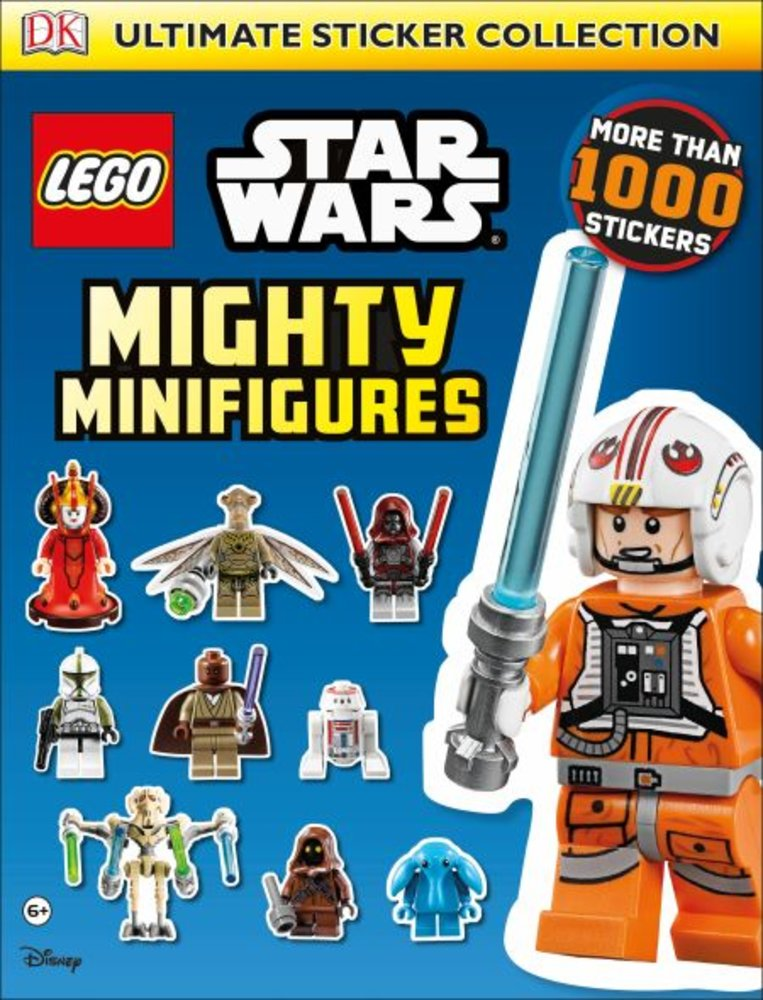 Ultimate Sticker Collection: Star Wars Mighty Minifigures