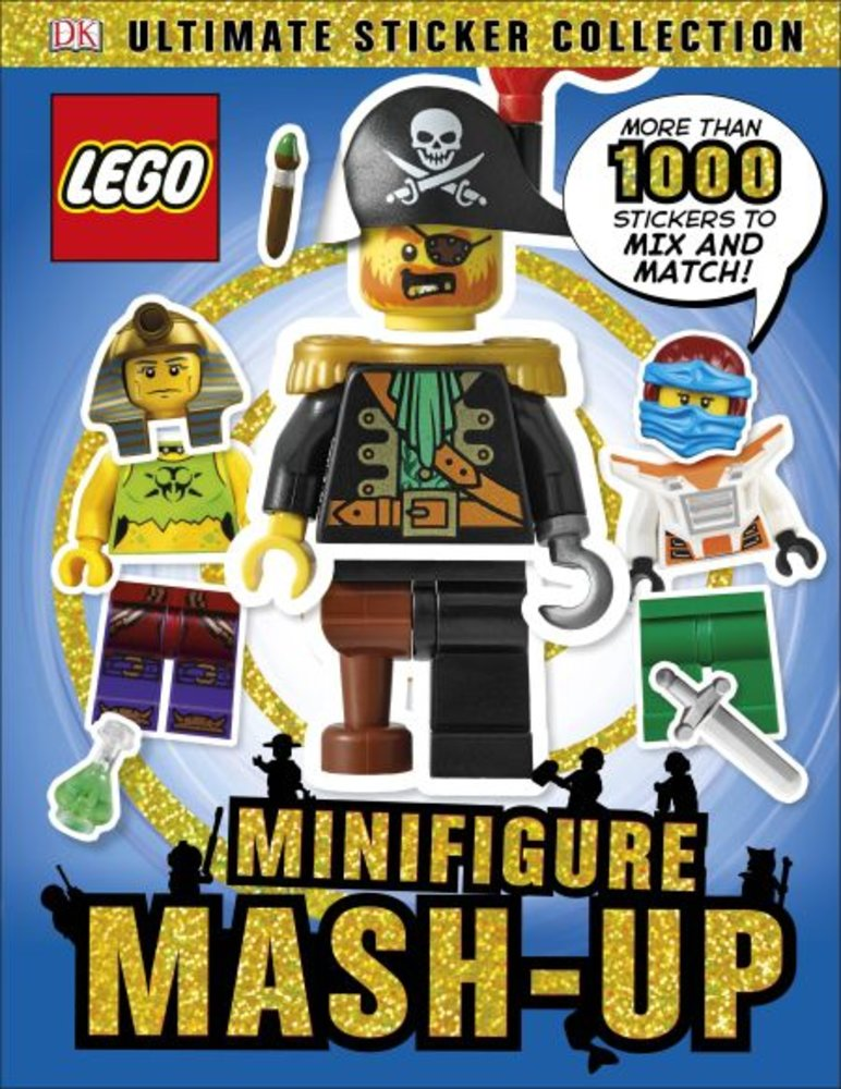 Ultimate Sticker Collection: Minifigure Mash-up!
