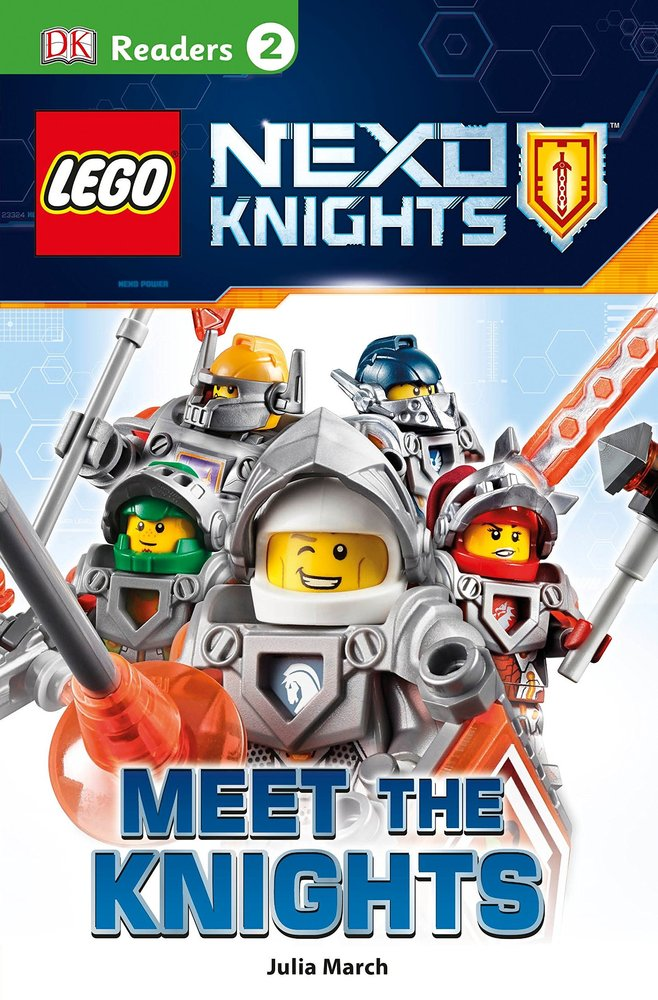 DK Readers Level 2: Nexo Knights: Meet the Knights