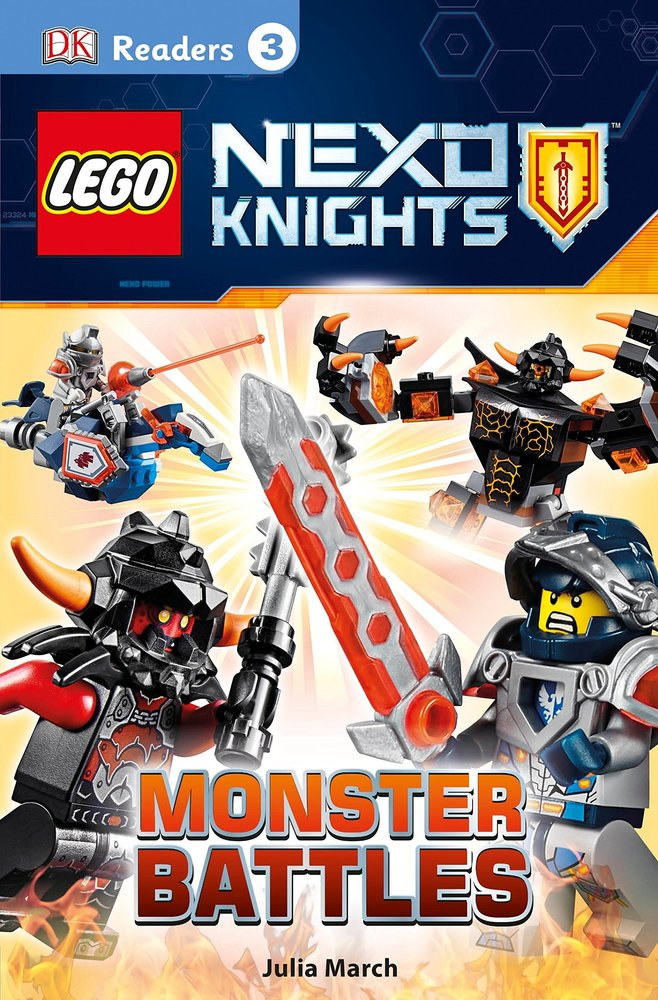 DK Readers Level 3: Nexo Knights: Monster Battles
