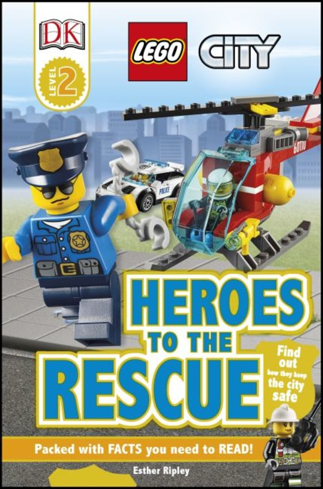 DK Readers Level 2: City: Heroes to the Rescue