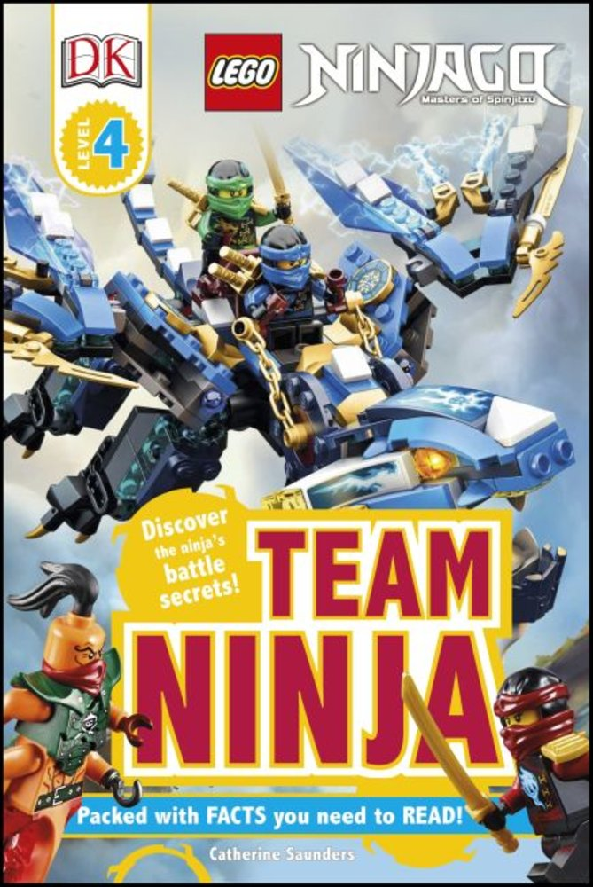 DK Readers Level 4: Ninjago: Team Ninja