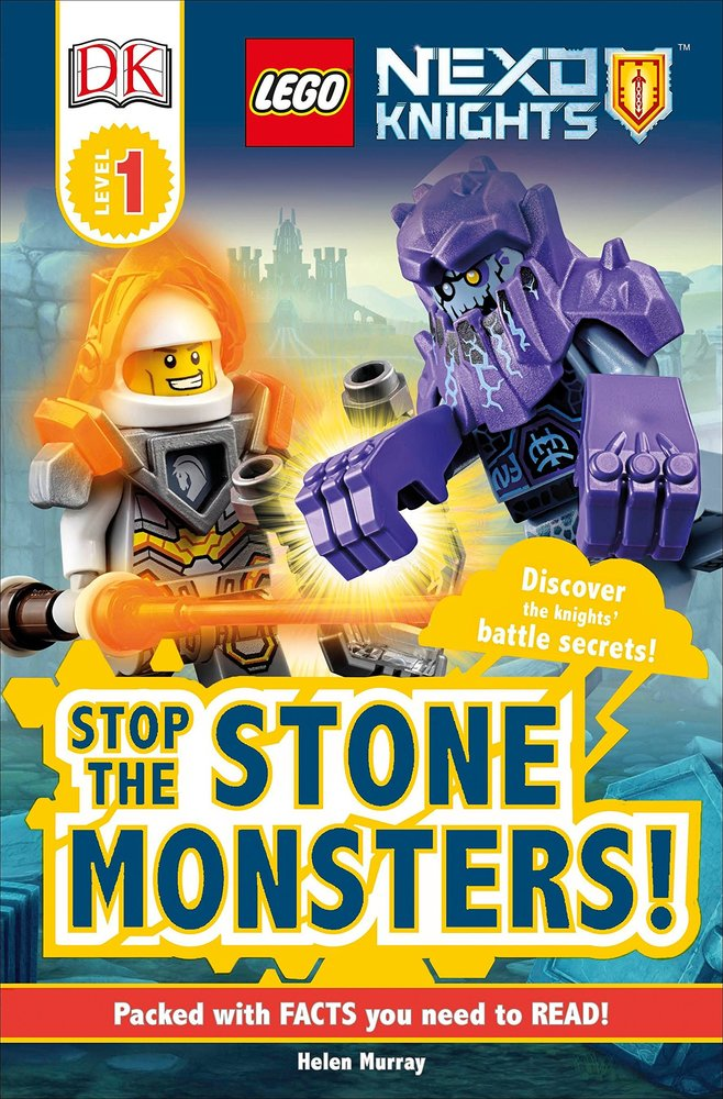 DK Readers Level 1: Nexo Knights: Stop the Stone Monsters