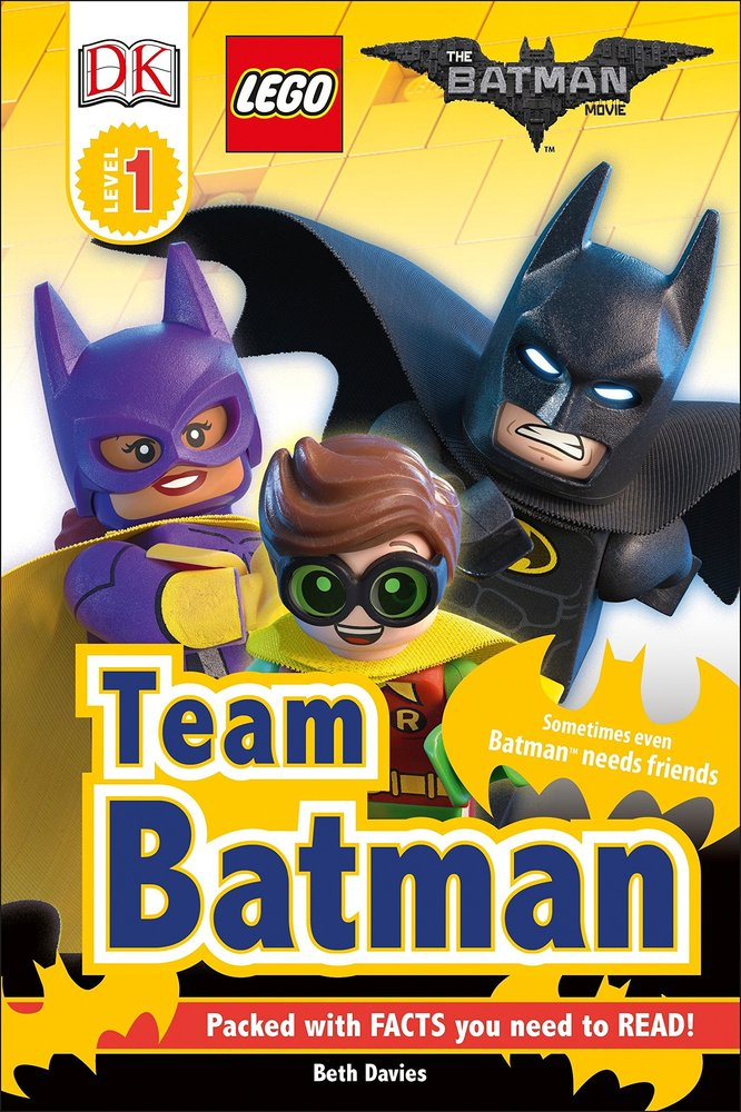 DK Readers Level 1: The Batman Movie: Team Batman