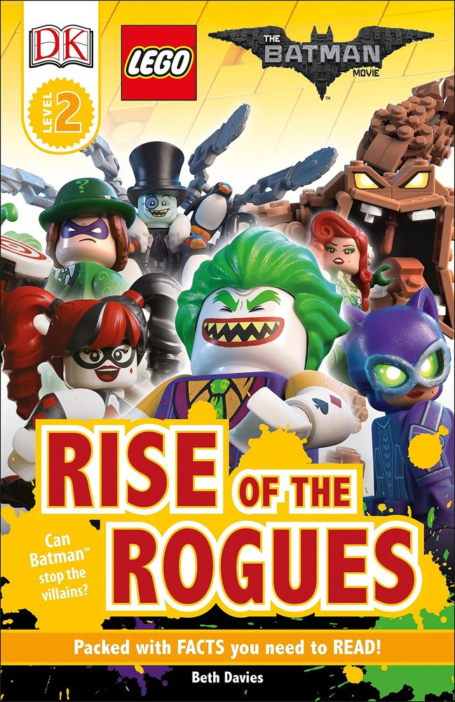 DK Readers Level 2: The Batman Movie: Rise of the Rogues