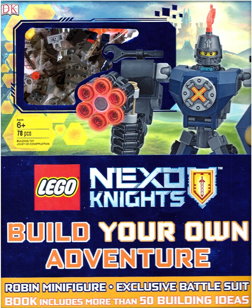 Nexo Knights: Build Your Own Adventure