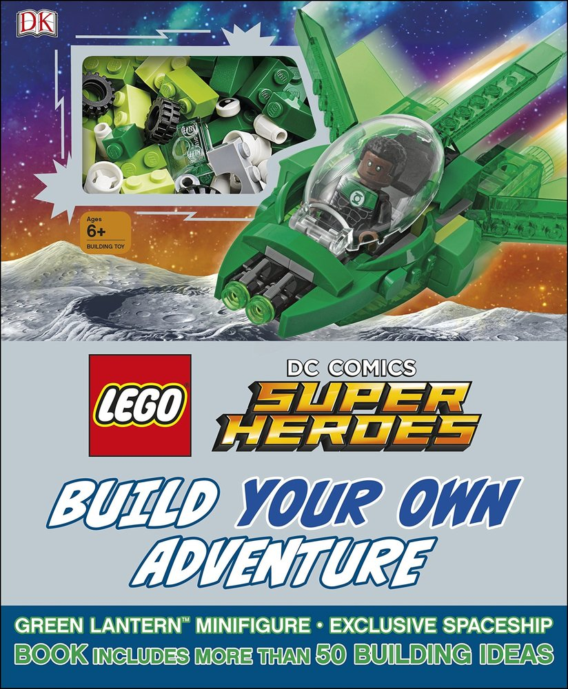 DC Comics Super Heroes: Build Your Own Adventure