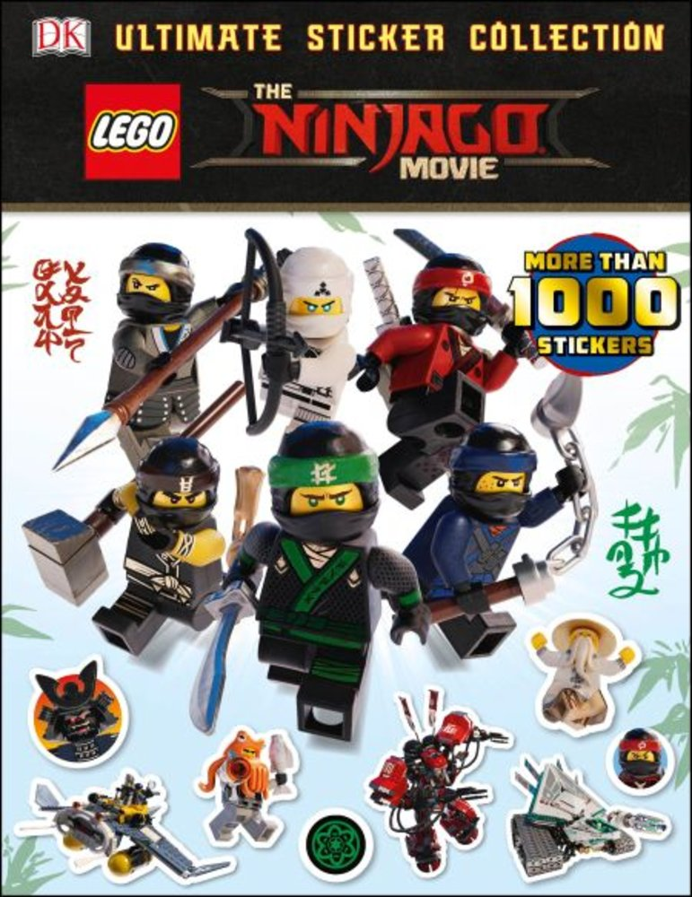 Ultimate Sticker Collection: The Ninjago Movie