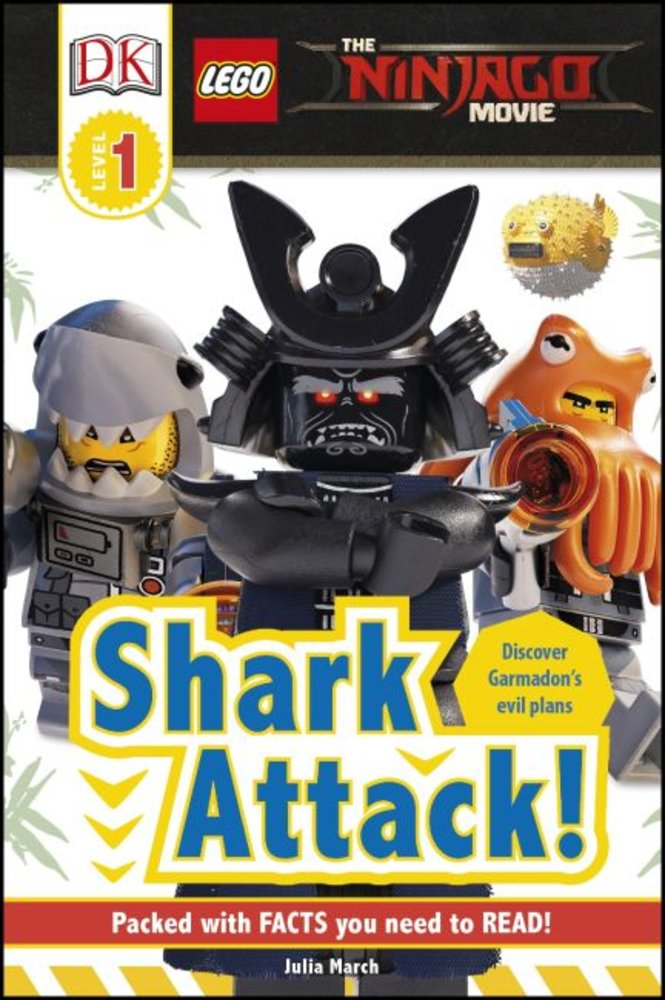 DK Readers Level 1: The Ninjago Movie: Shark Attack!