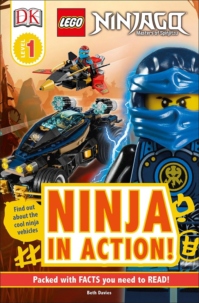 DK Readers Level 1 Ninjago - Ninja in Action