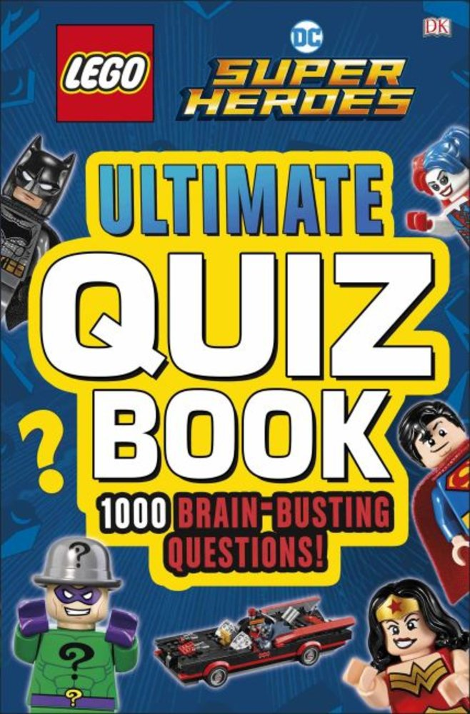 DC Comics Super Heroes: Ultimate Quiz Book