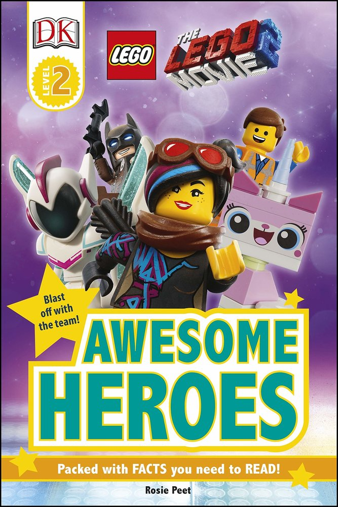 DK Readers Level 2 - The Lego Movie 2 - Awesome Heroes