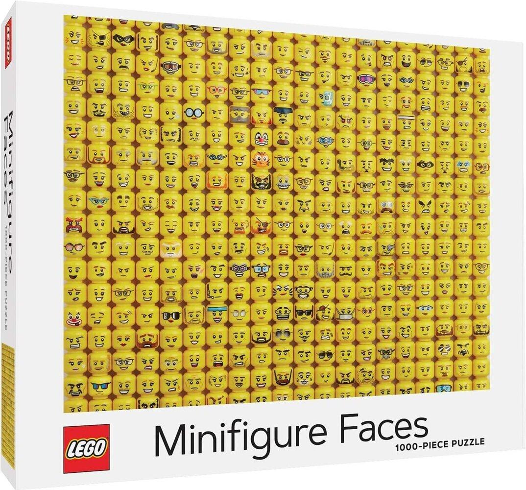 Minifigure Faces Puzzle