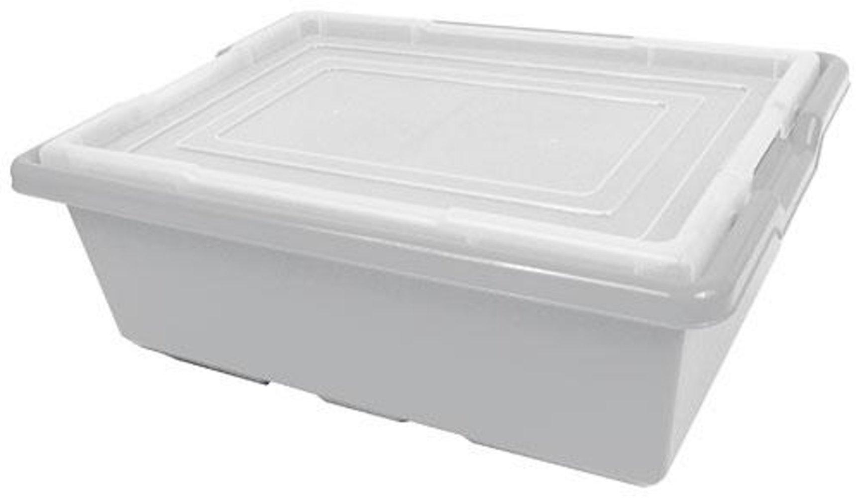 Medium Gray Storage Bin