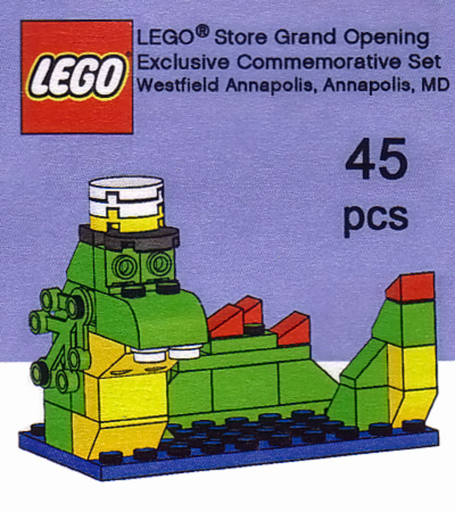LEGO Store Grand Opening Exclusive Set, Westfield Annapolis, Annapolis, MD