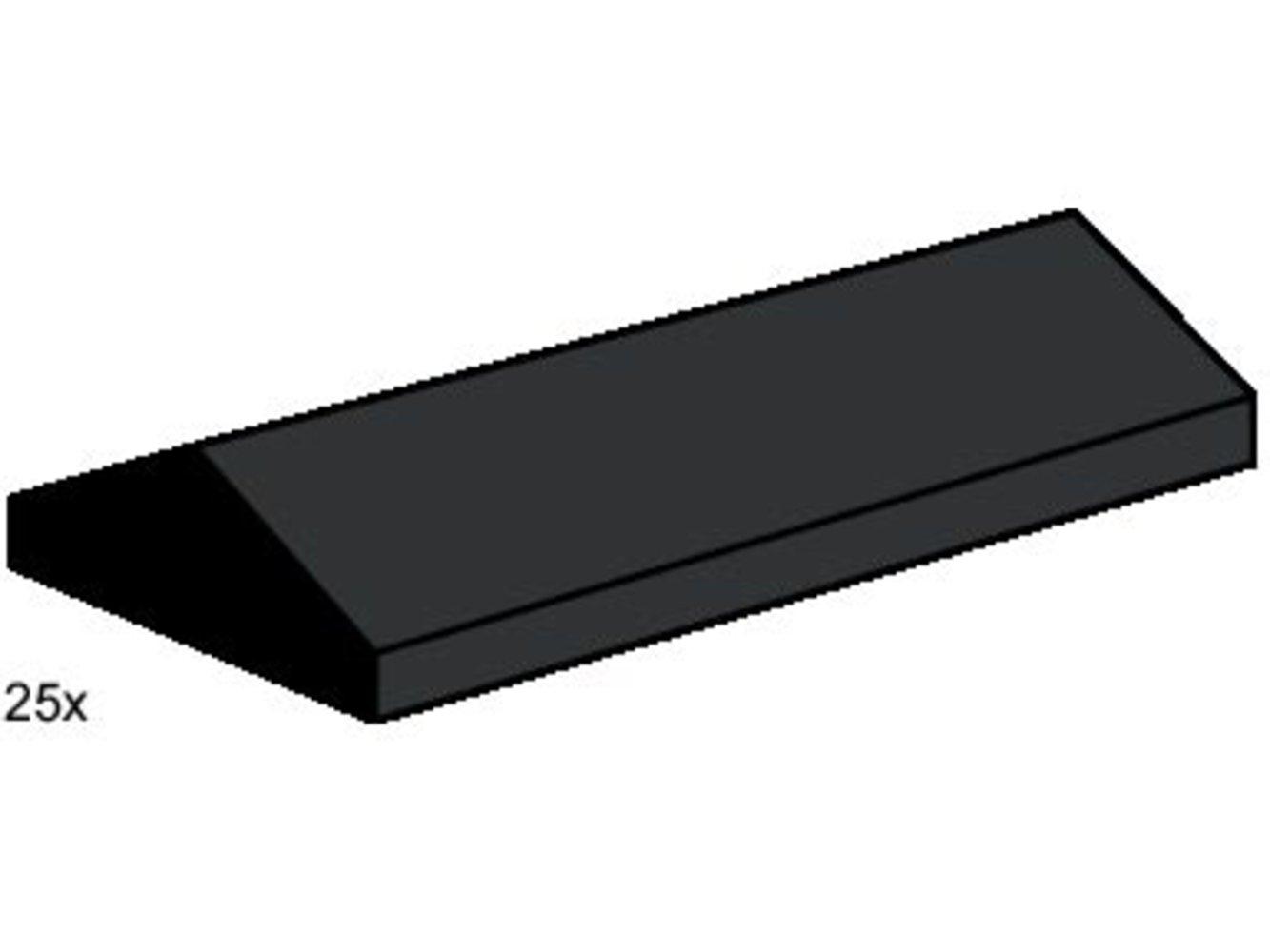 2 x 4 Ridge Roof Tile Low Sloped Black