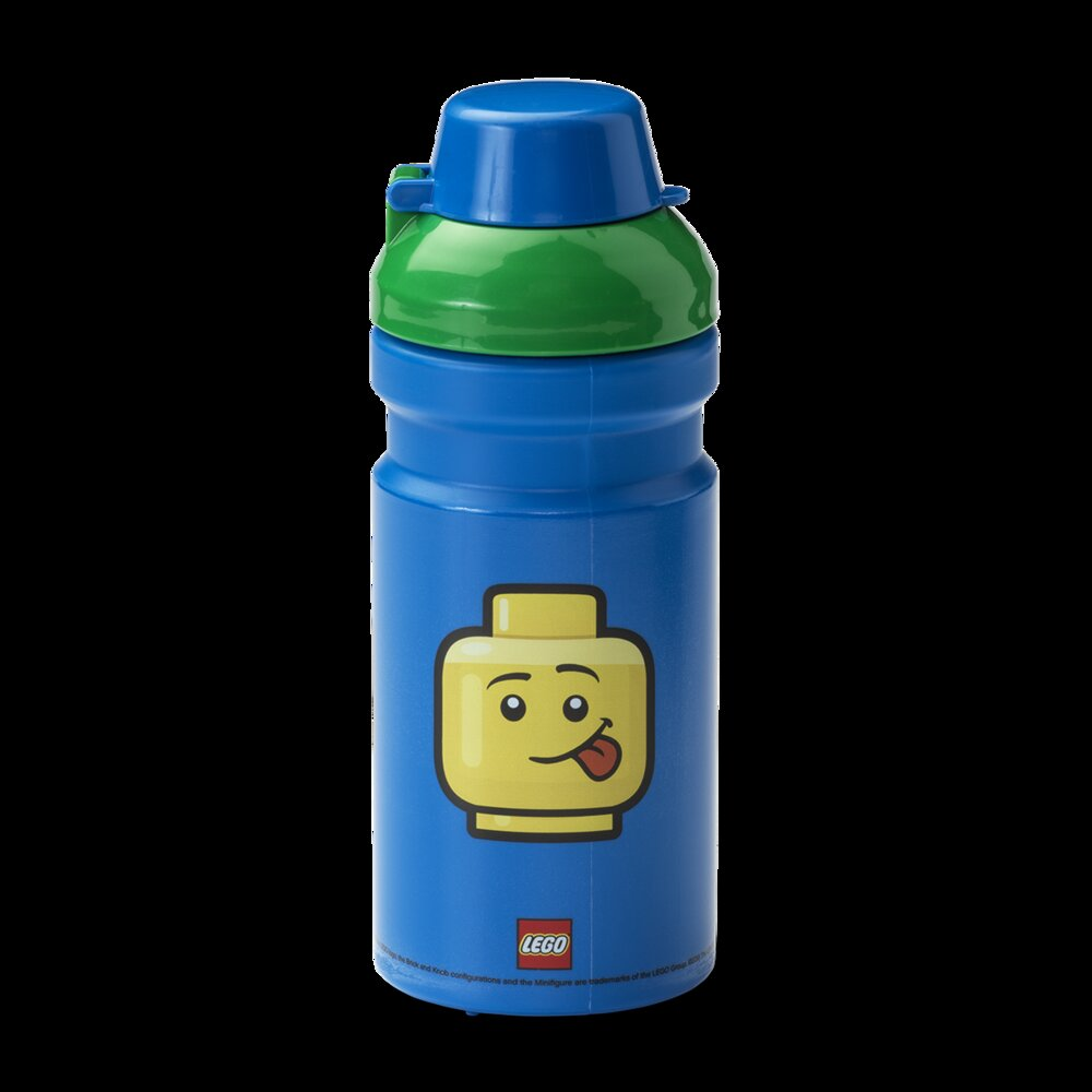 Minifigure Head Drinking Bottle (Boy)