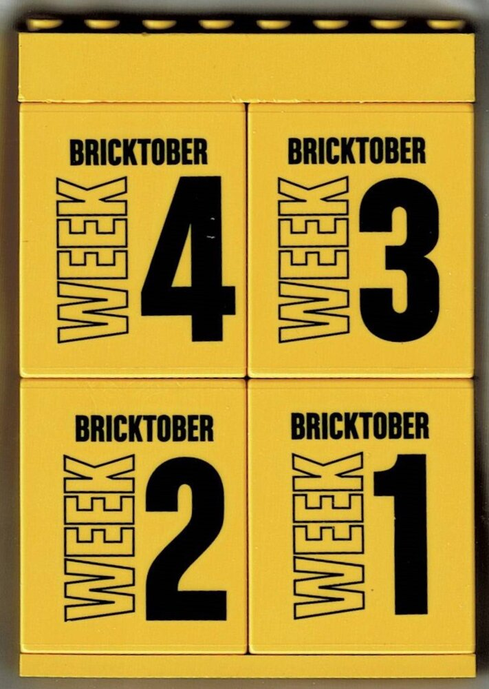 Toys 'R' Us Bricktober Promotional Brick Set