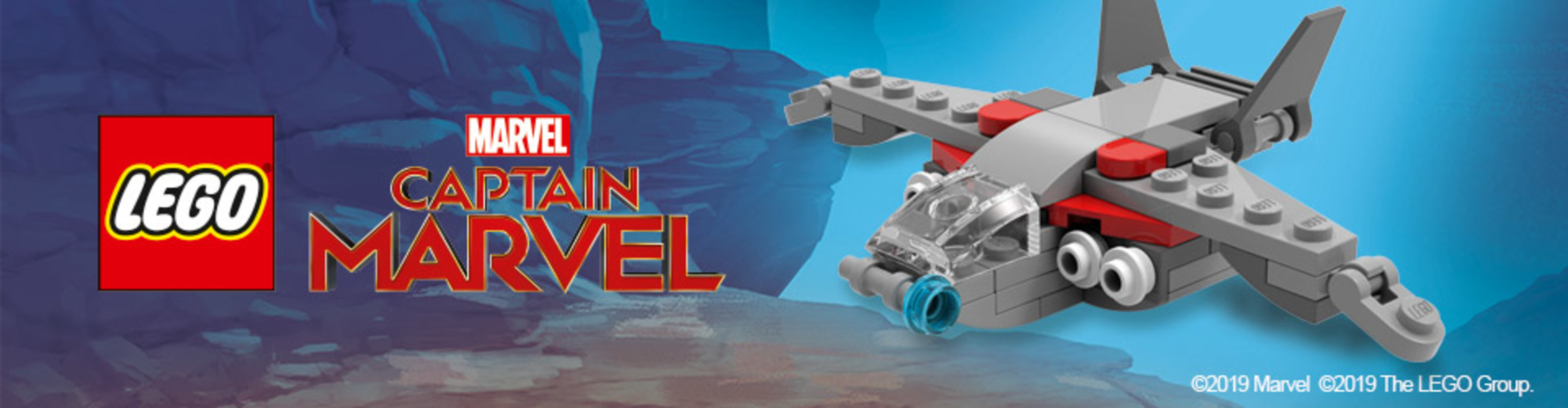 Mini Captain Marvel Ship