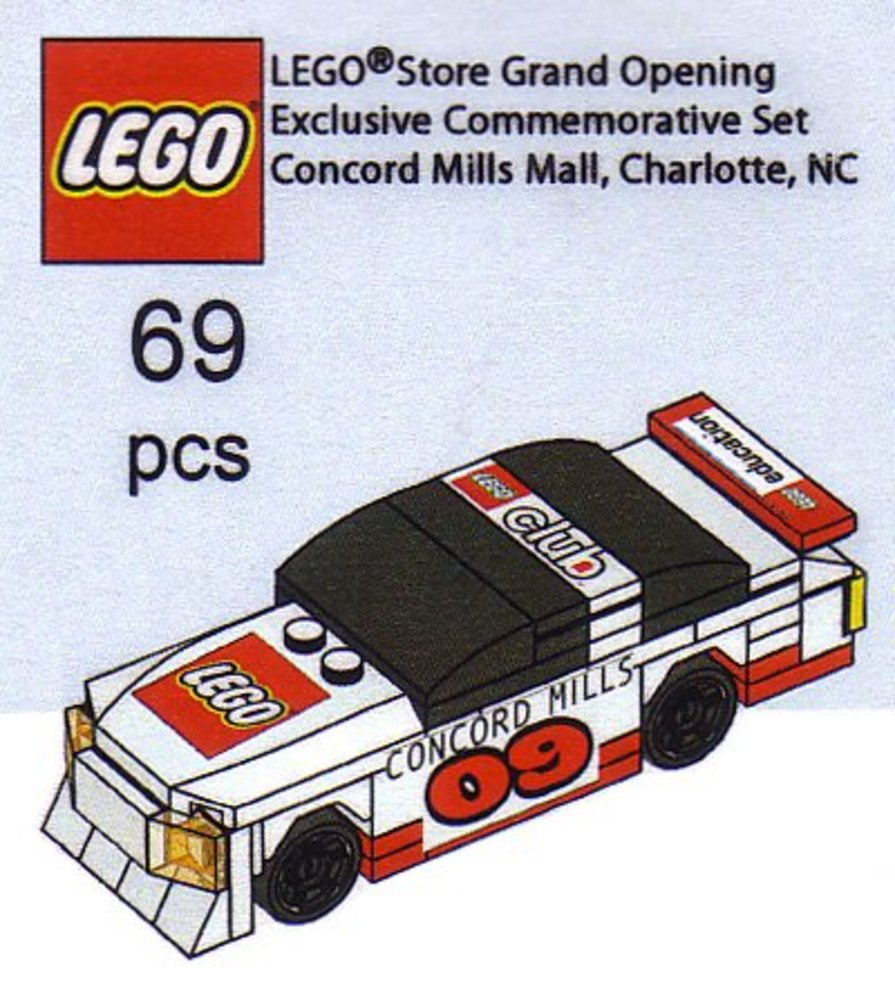 LEGO Store Grand Opening Exclusive Set, Concord Mills, Concord, NC
