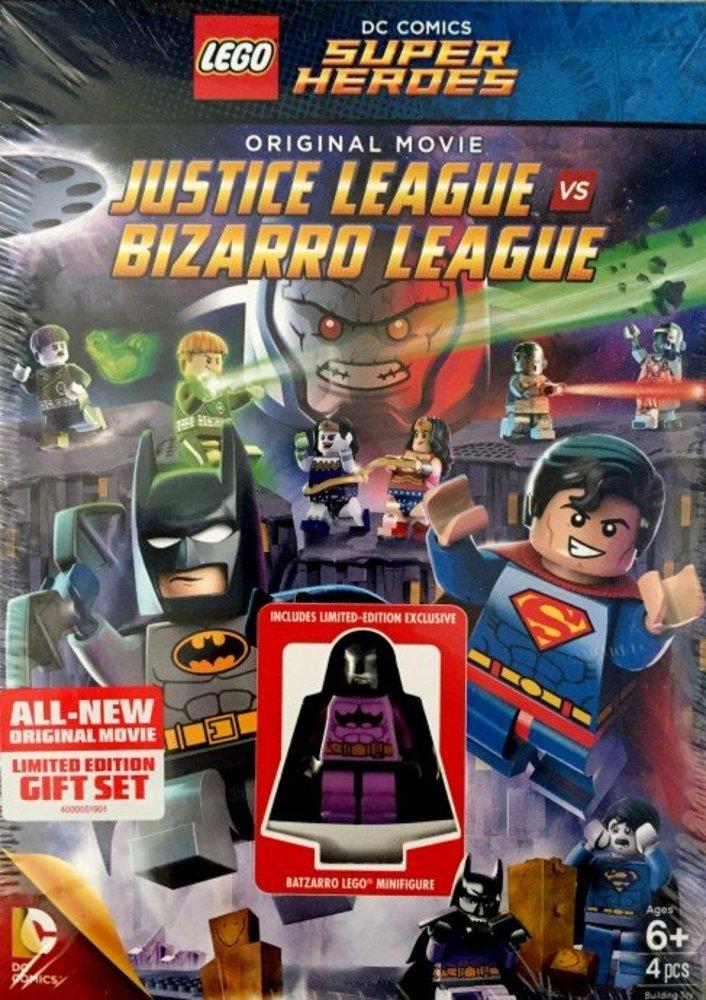 Justice League vs Bizarro League DVD/Blu-Ray