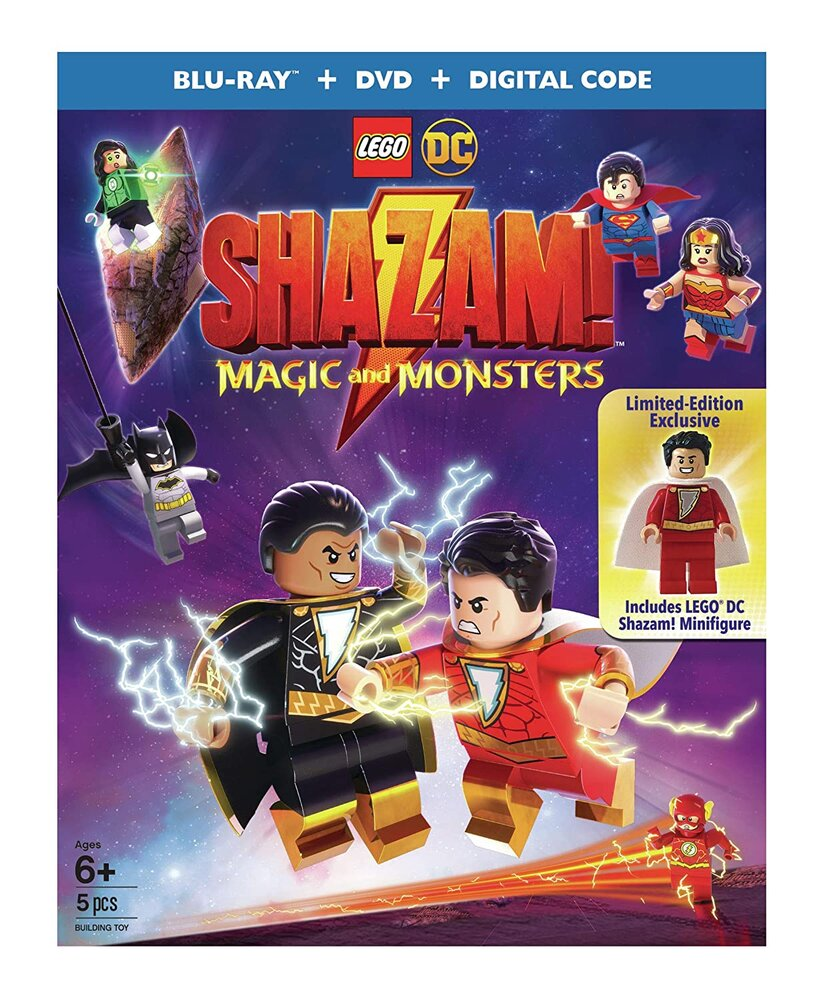 Shazam: Magic and Monsters (DVD)