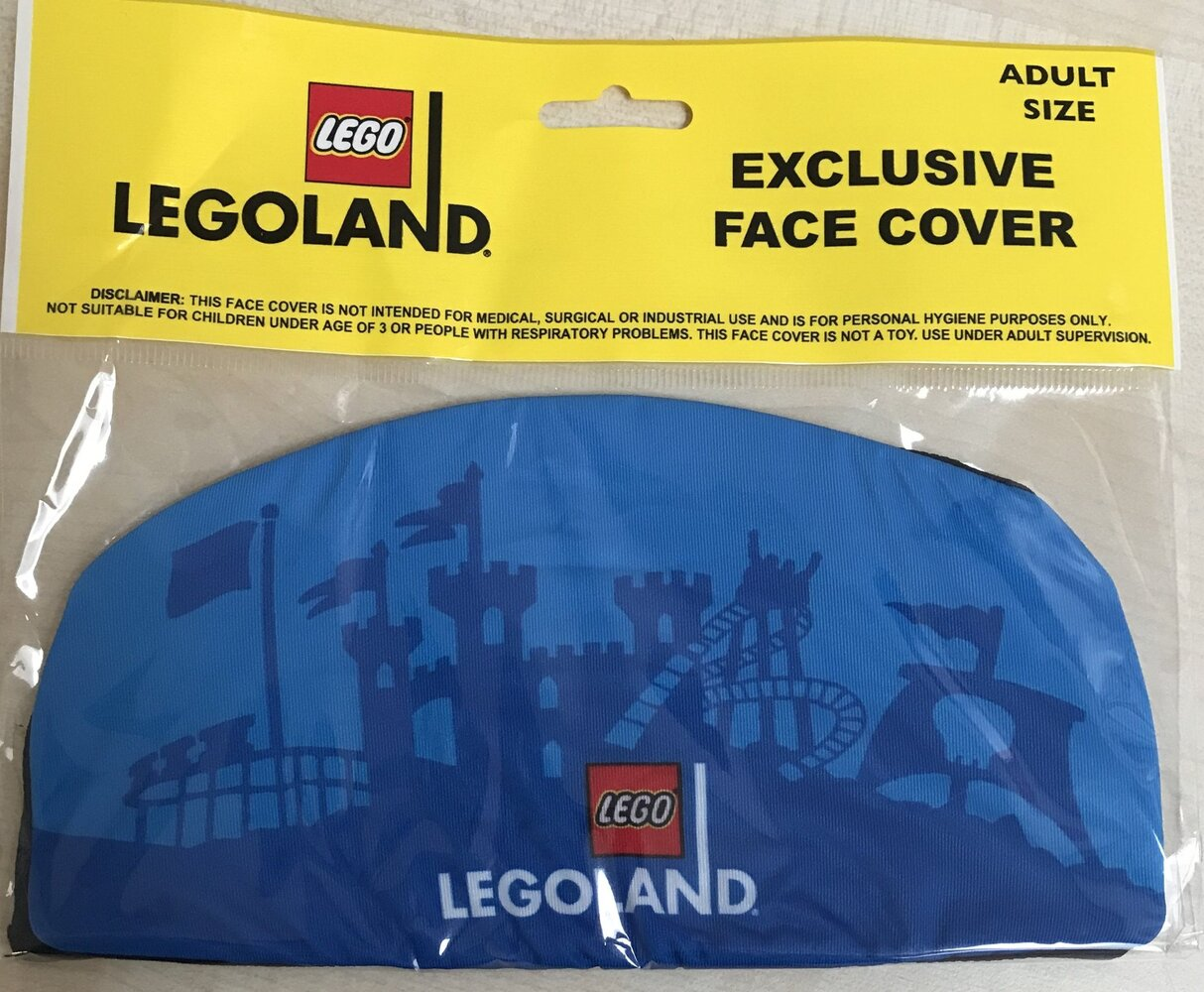 LEGOLAND Face Cover (Blue)