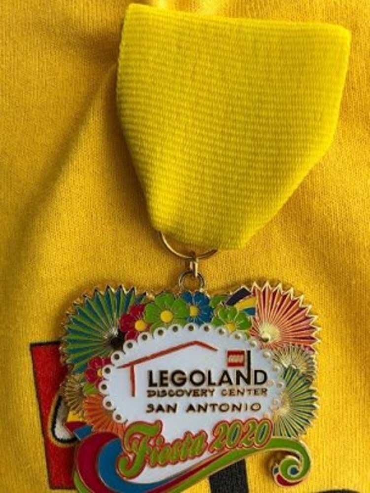 LEGOLAND Discovery Center San Antonio Fiesta 2020 Medal