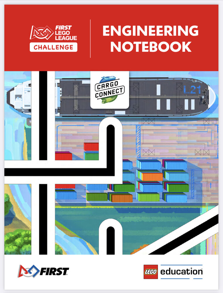CARGO CONNECT Engineering Notebook (FLL Challenge)