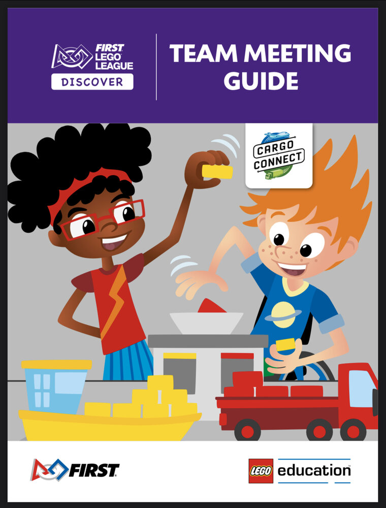 CARGO CONNECT Team Meeting Guide (FLL Discover)