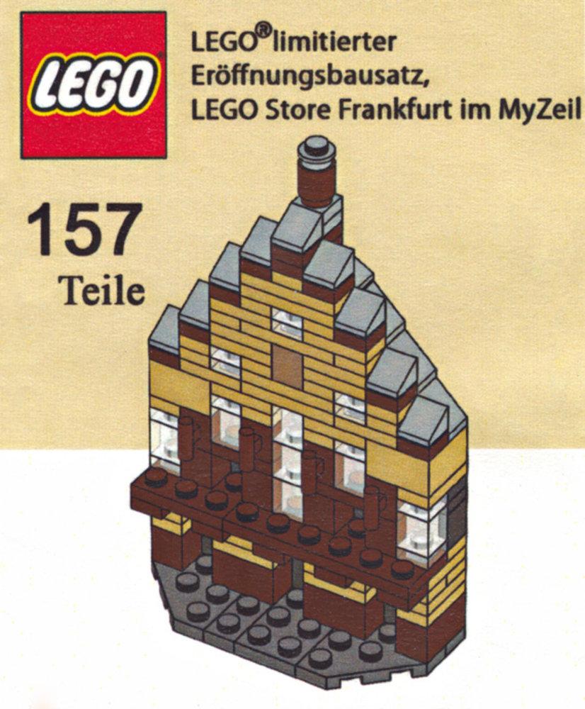 LEGO Store Grand Opening Exclusive Set, MyZeil, Frankfurt, Germany