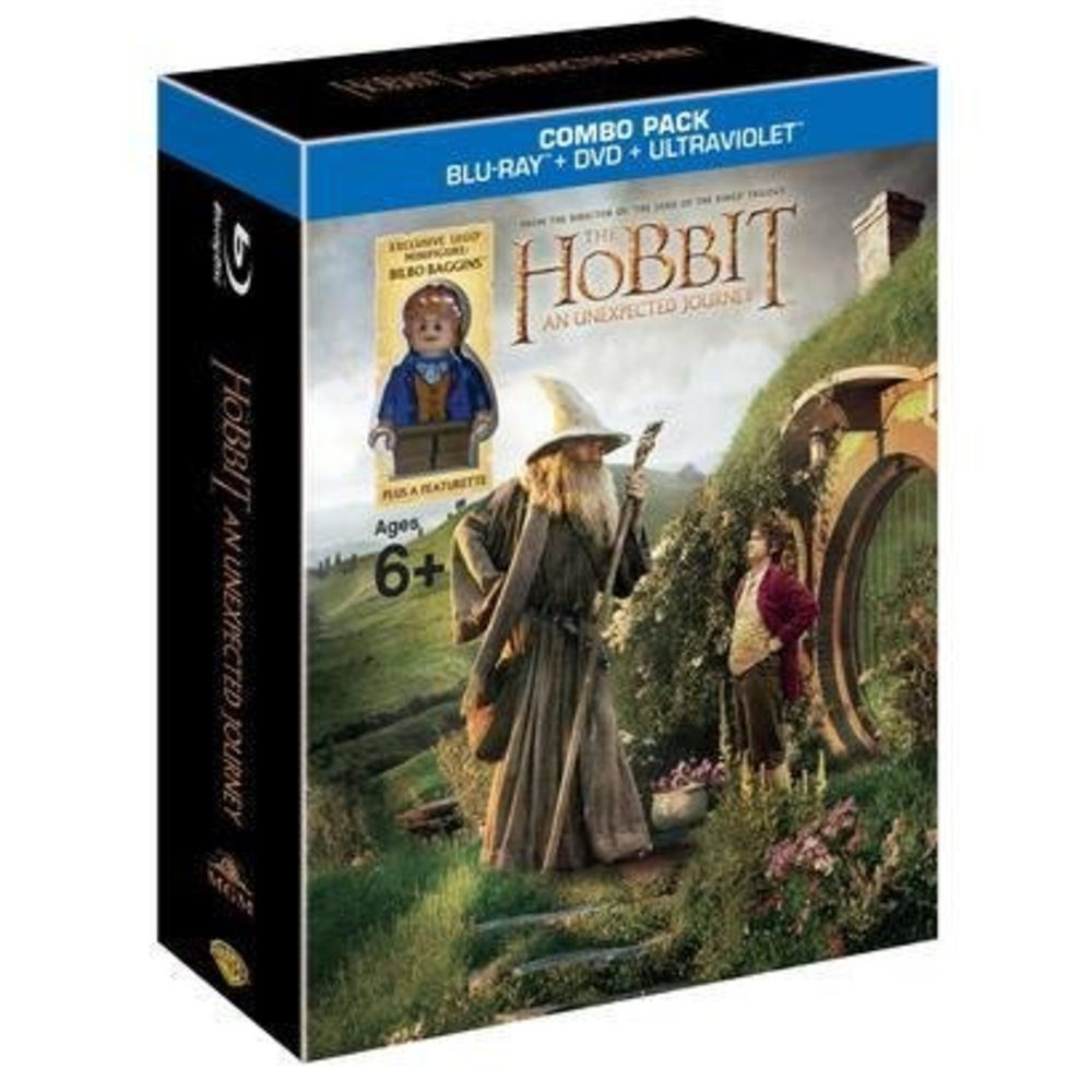 The Hobbit - An Unexpected Journey Blu-Ray & DVD