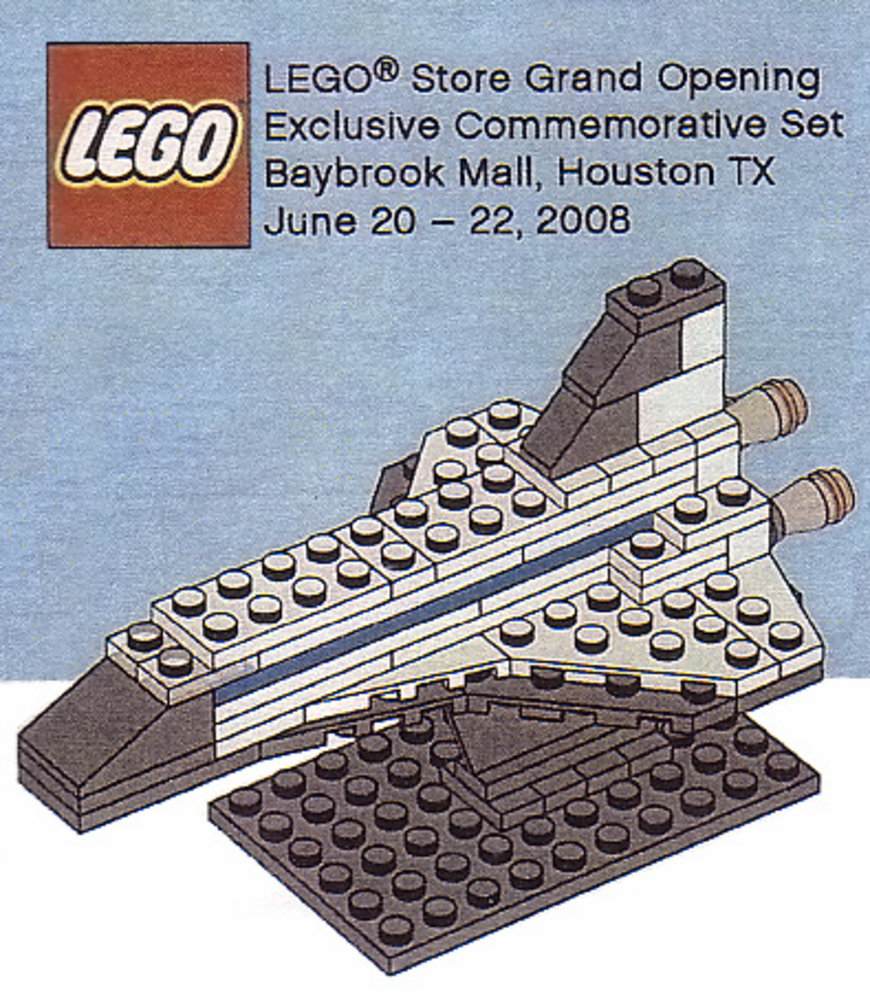 LEGO Store Grand Opening Exclusive Set, The Galleria, Houston, TX
