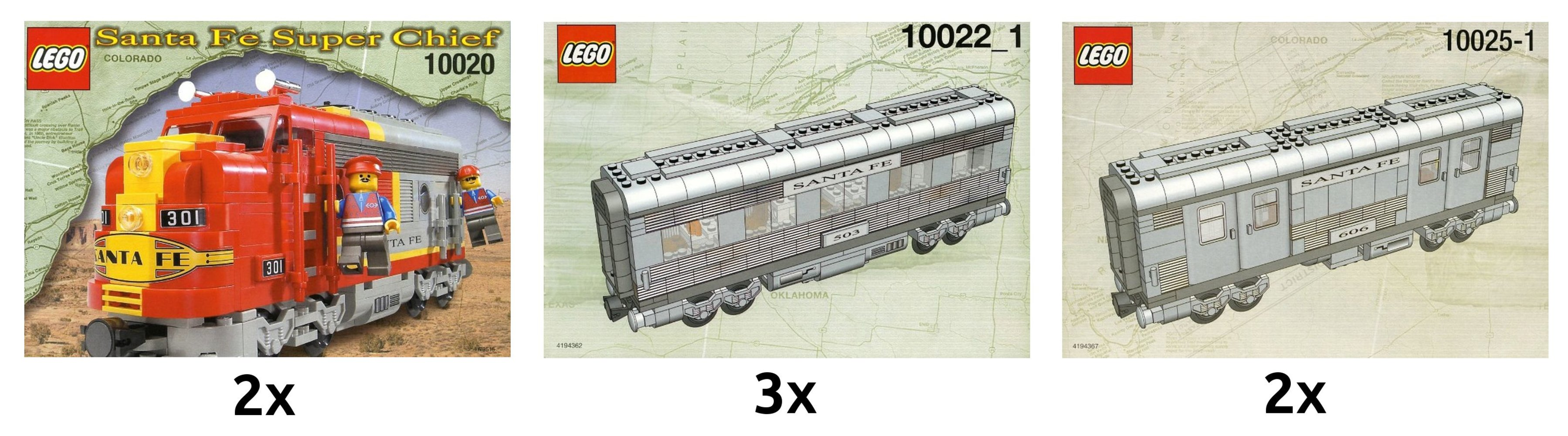 Santa Fe Train Kit
