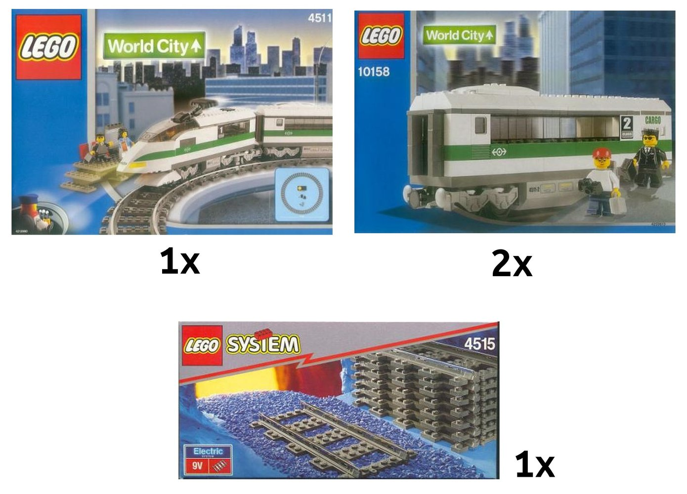Deluxe High Speed Train Collection