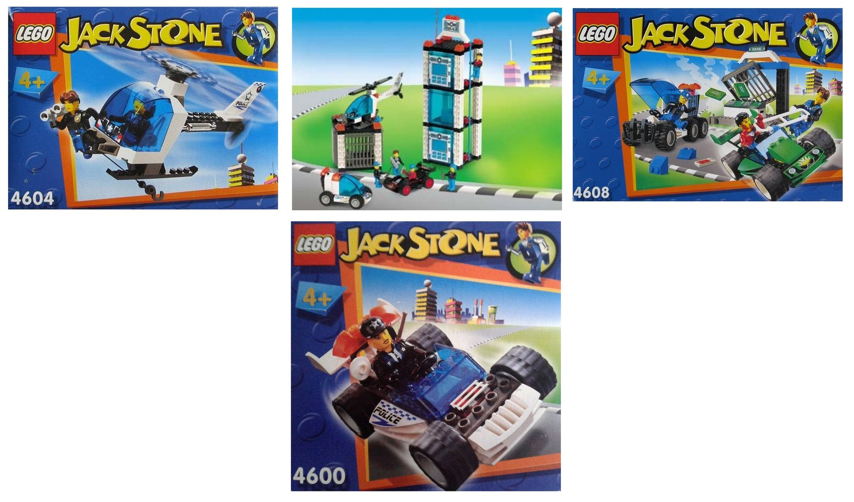 Jack Stone Police Rescue Kit