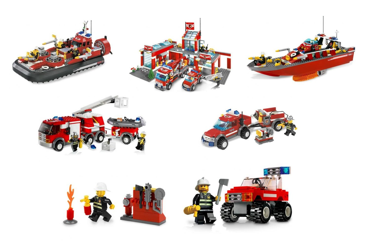 City Fire Station Collection