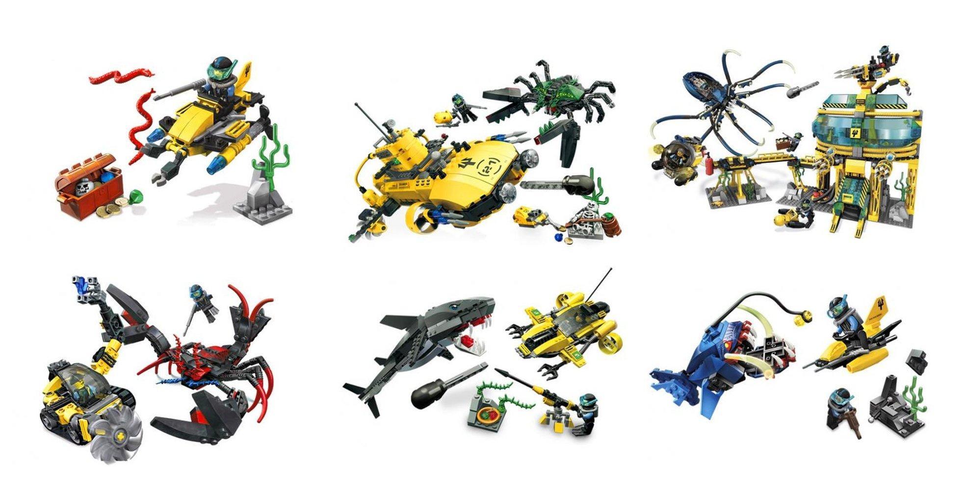 Complete Aqua Raiders Collection